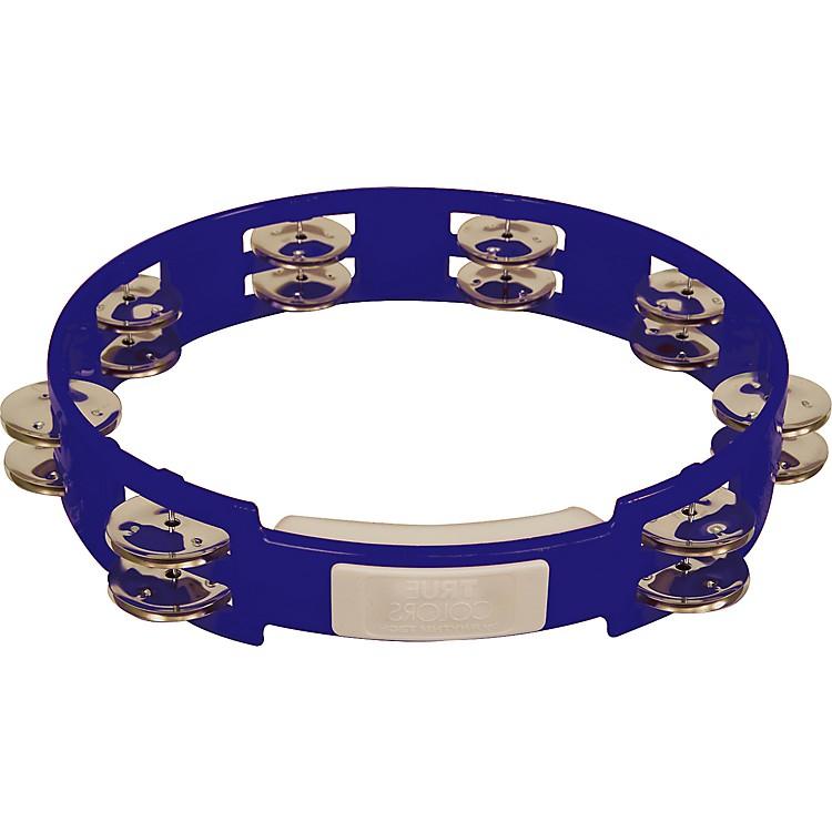 RhythmTechTrue Colors TambourineCobalt Blue10 in.