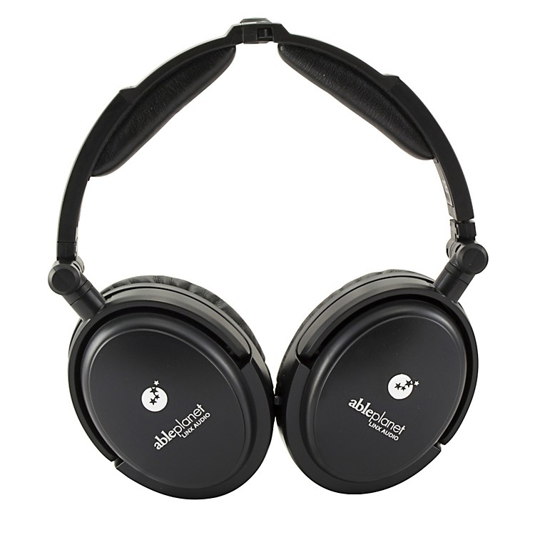 Able PlanetTrue Fidelity NC180B Around the Ear Foldable Noise Canceling Headphones