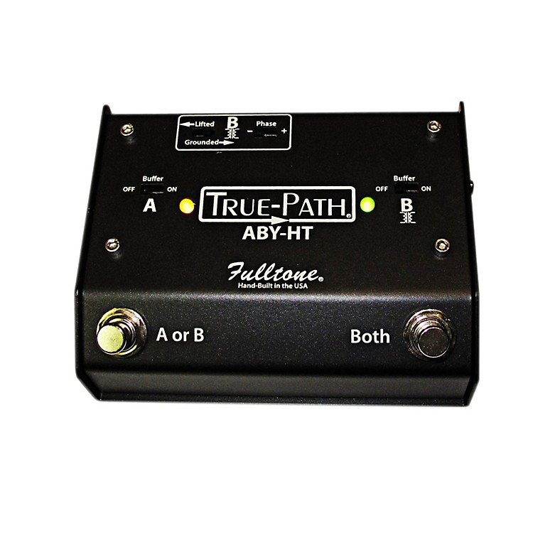 Fulltone Custom Shop True-Path Hard Touch ABY Switching Box