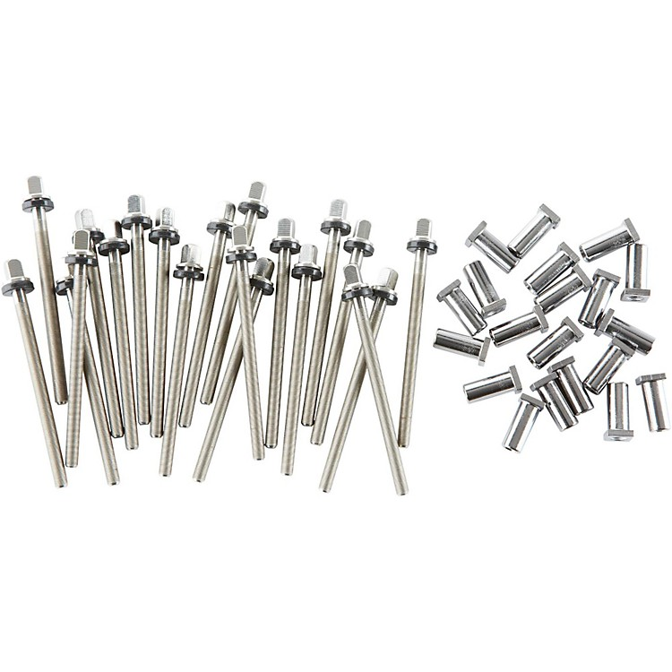 DWTrue Pitch Snare Drum Tension Rods (20-pack)6.5 Inch Deep Drum