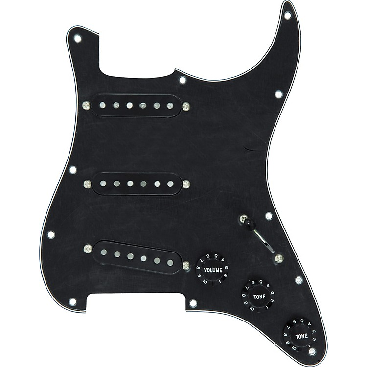DiMarzio True Velvet Vintage Prewired Pickguard Black