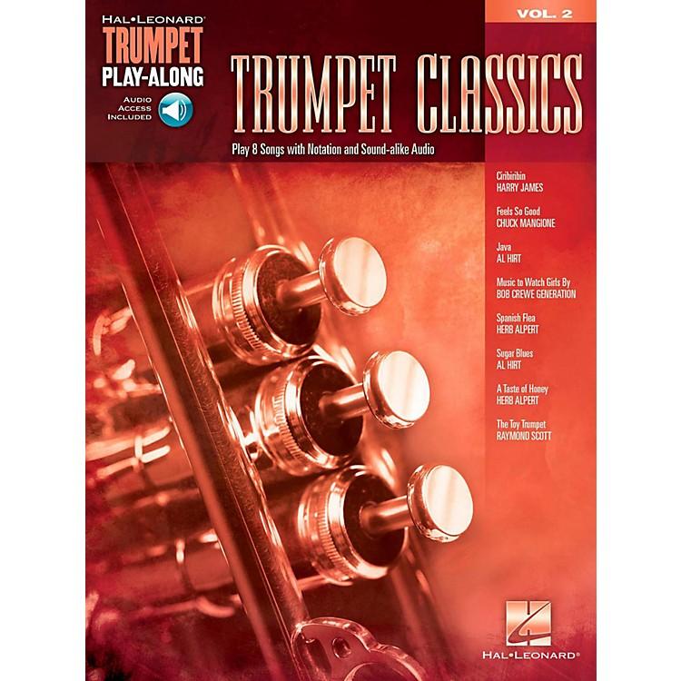 Hal LeonardTrumpet Classics - Trumpet Play-Along Vol. 2 (Book/Audio)