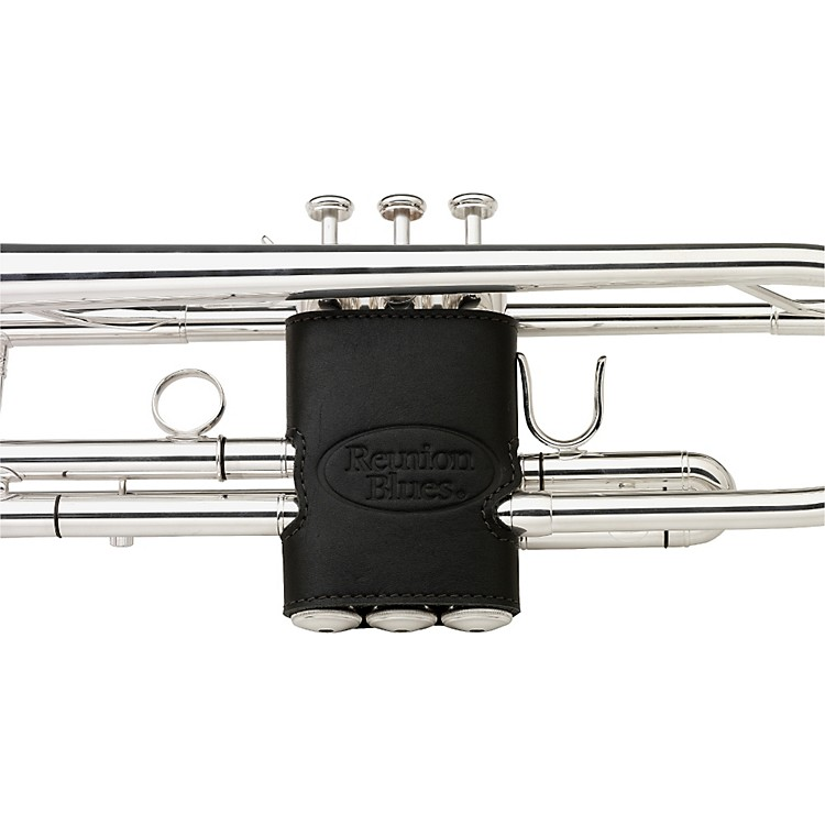 Reunion Blues Trumpet Valve Guard Black Leather