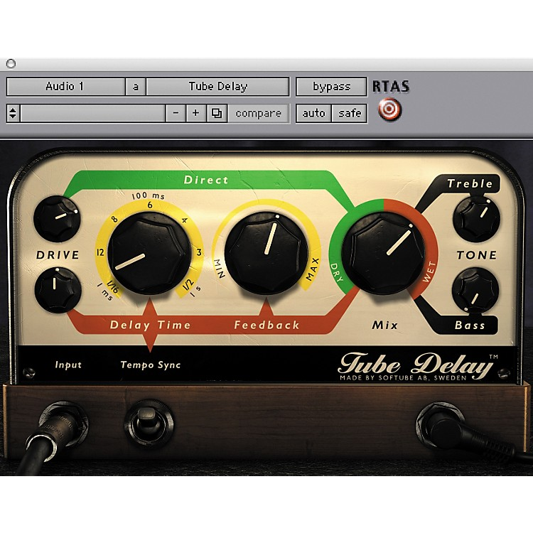 Softube Tube Delay Plug-in - Native Software  Download