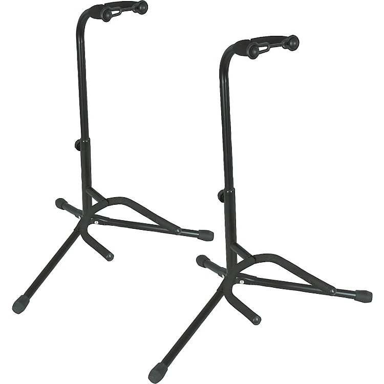 Musician's Gear Tubular Guitar Stand Black Pair