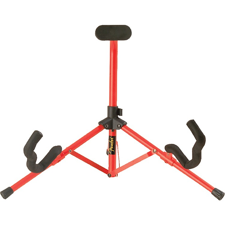 Fender Tubular Mini A-Frame Stand Red