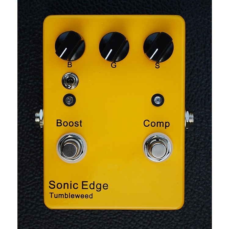 Sonic Edge Tumbleweed Clean Boost/Compression Guitar Effects Pedal