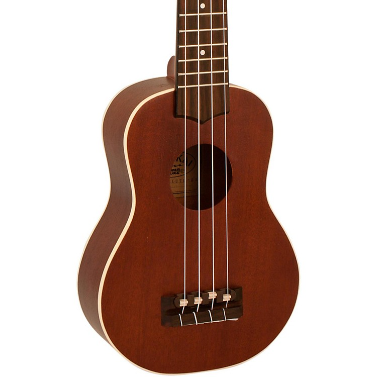 Lanikai TunaUke Soprano Ukulele with Binding Natural