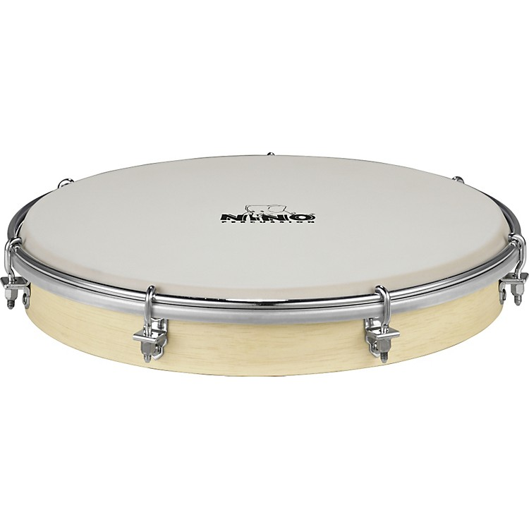 NinoTunable Nino Hand Drum with True Feel Synthetic HeadNatural10 in.
