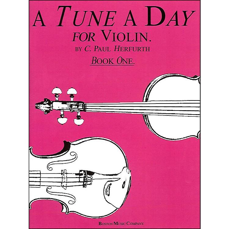 Music SalesTune A Day Violin Book 1 By Herfurth