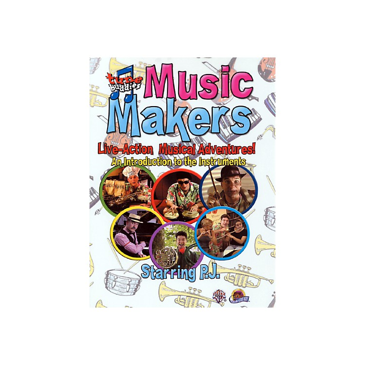AlfredTune Buddies Music Makers An Introduction to the Instruments DVD