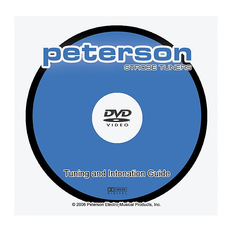 PetersonTuning and Intonation (DVD)
