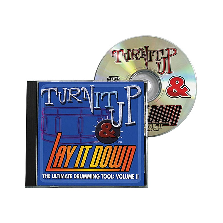 Drum Fun IncTurn It Up and Lay It Down, Volume 2 - Play Along CD for Drummers