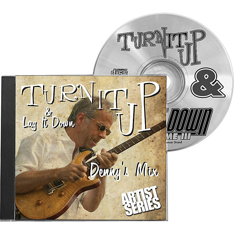 Drum Fun Inc Turn It Up and Lay It Down, Volume 8 - Denny's Mix - Play Along CD for Drummers