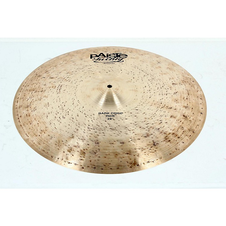 Paiste Twenty Masters Collection Dark Crisp Ride 22 in. 888365115337