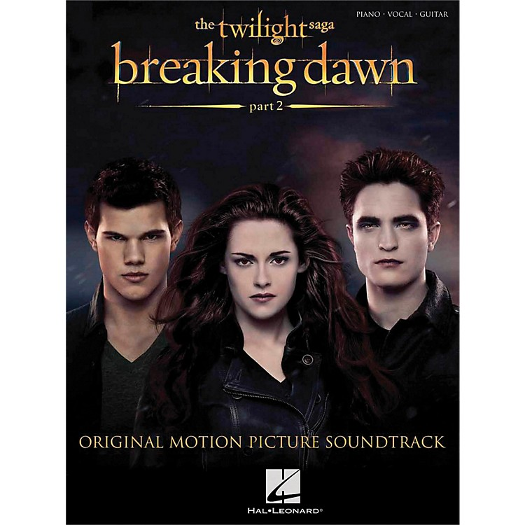 Hal Leonard Twilight: Breaking Dawn Part 2 for P/V/G (Piano/Vocal/Guitar)