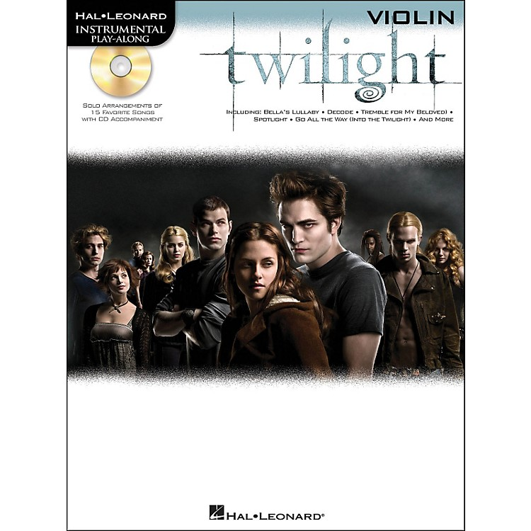Hal Leonard Twilight For Violin - Music From The Soundtrack - Instrumental Play-Along Book/CD Pkg