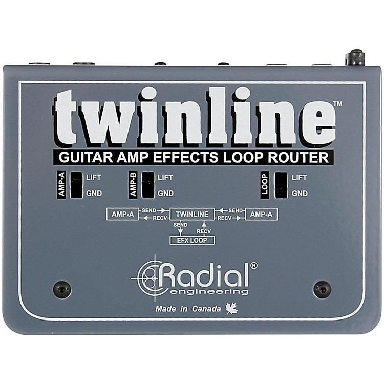 Radial EngineeringTwinline Dual Effects Loop Interface for Two Amps
