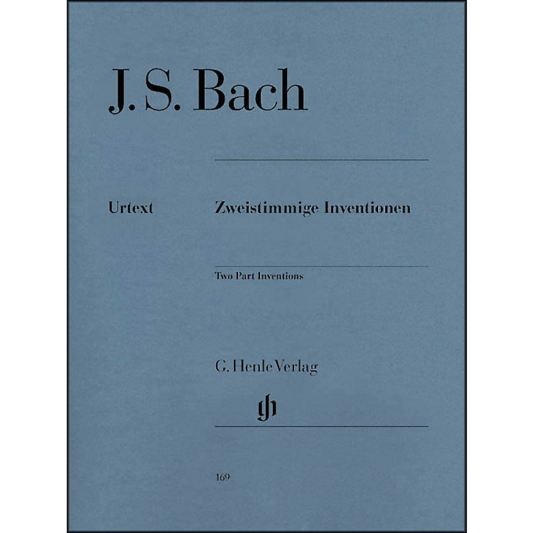 G. Henle VerlagTwo Part Inventions BWV 772-786 By Bach