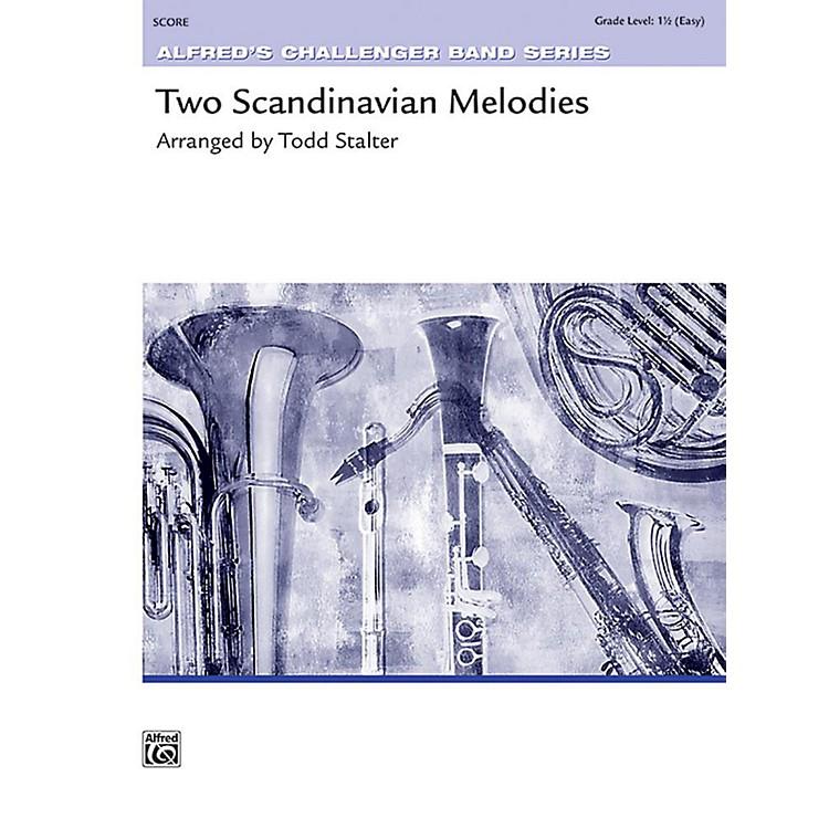 AlfredTwo Scandinavian Melodies Concert Band Grade 1.5 Set
