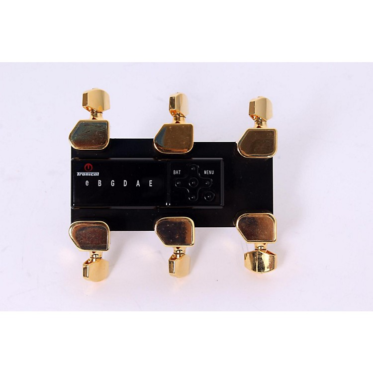 Tronical Tuning Systems Type H Self Tuner for Taylor Guitars Gold Tulip Button 888365594576