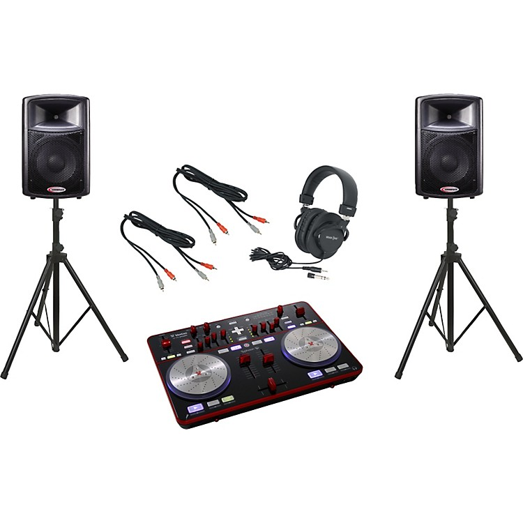 Vestax Typhoon / Harbinger APS12 DJ Package