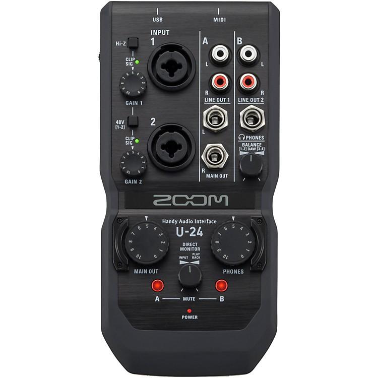 ZoomU-24 Handy Audio Interface