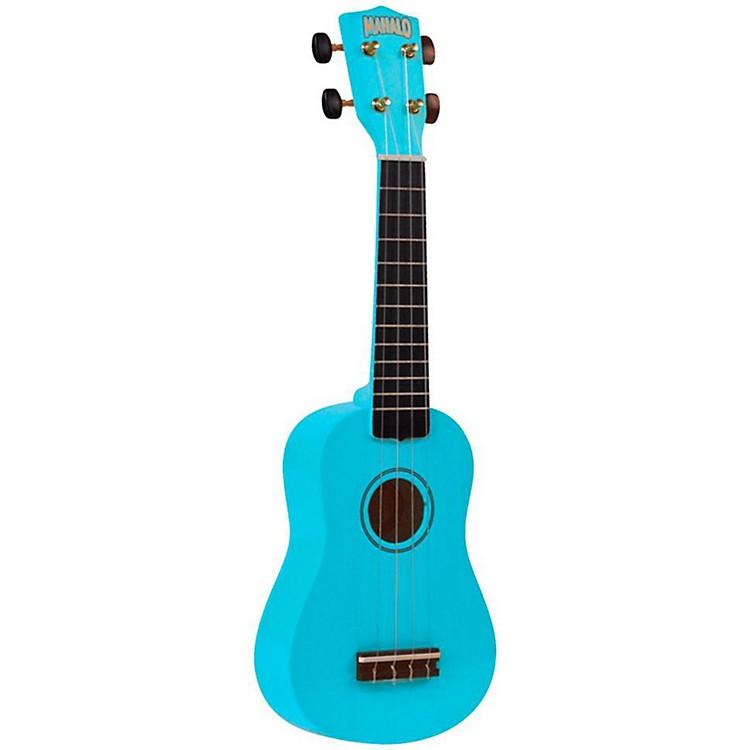 MahaloU-30 Painted Soprano UkuleleLight Blue