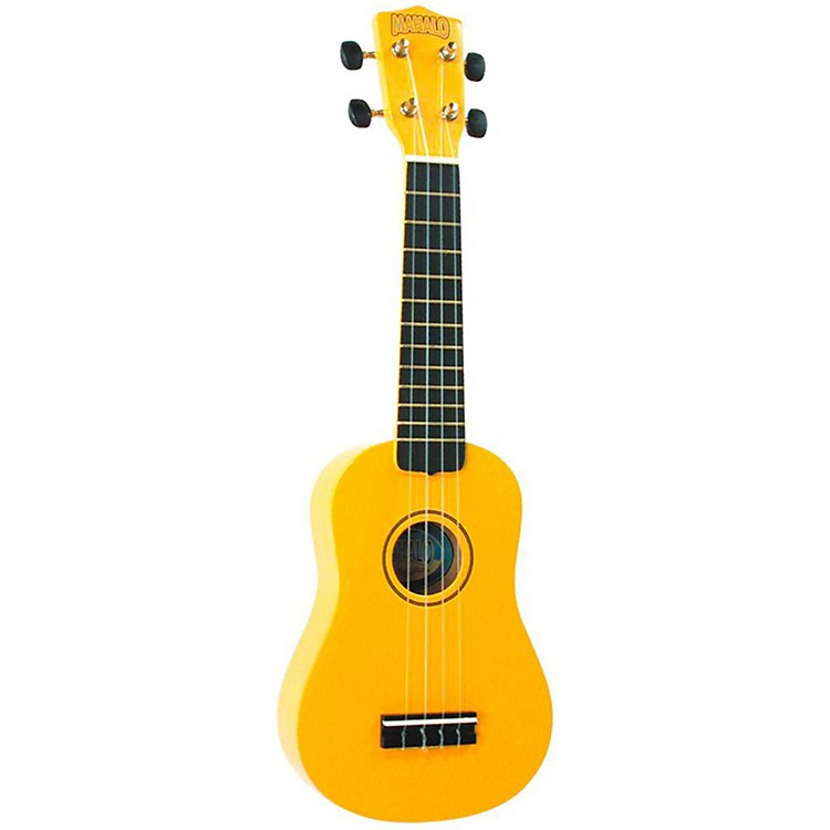 Mahalo U-30 Painted Soprano Ukulele Yellow