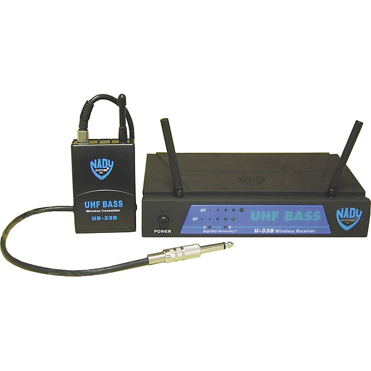 NadyU-33B UHF Bass Wireless Microphone SystemMU4 / 493.55