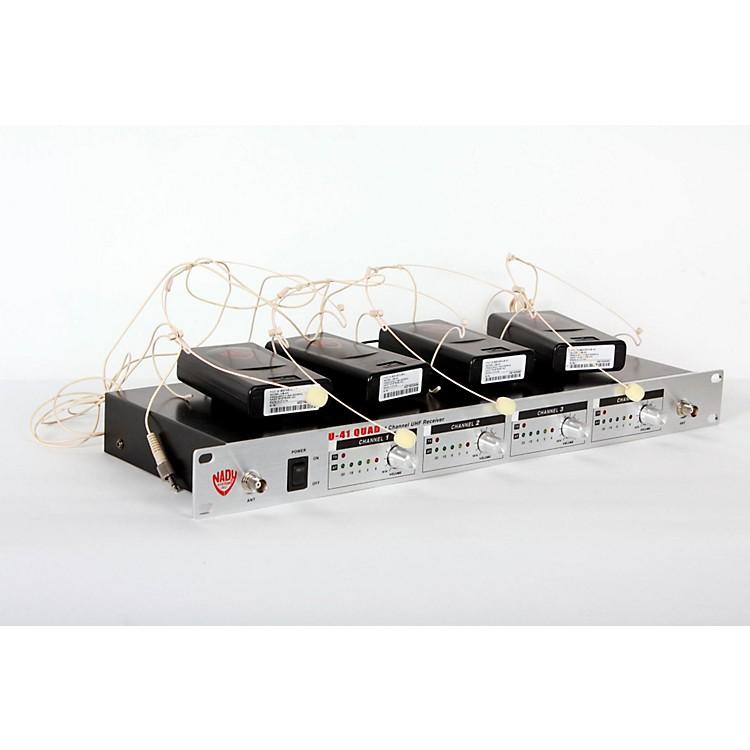 NadyU-41 Quad HM10 Headset Wireless System (14/16/10/12)Beige888365844305
