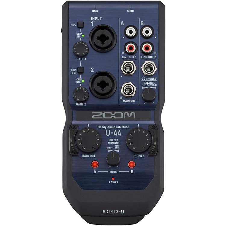 ZoomU-44 Handy Audio Interface