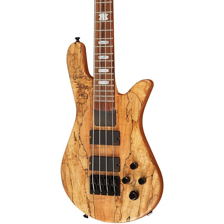 SpectorU.S.A. NS-4H2-EX Spalted Maple Top Bass GuitarSpalted MapleNatural