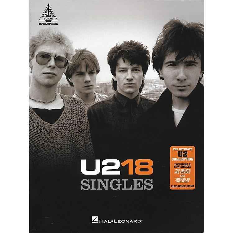 Hal LeonardU2 18 Singles Guitar Tab Songbook