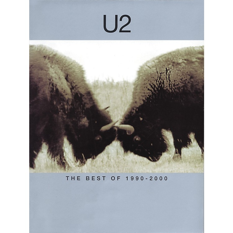 Hal Leonard U2-Best of 1990-2000 Piano, Vocal, Guitar Songbook