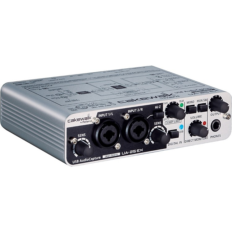 Cakewalk UA-25EX USB Audio Interface