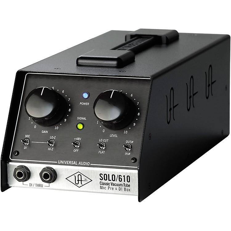 Universal AudioUA-S610 SOLO/610 Classic Vacuum Tube Microphone Preamp and DI Box