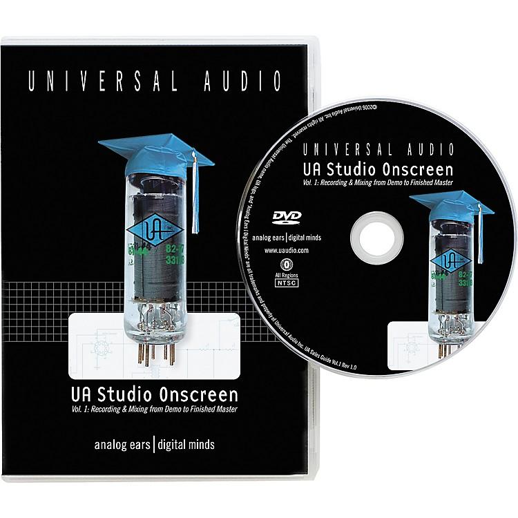 Universal AudioUA Studio Onscreen Vol. 1 DVD