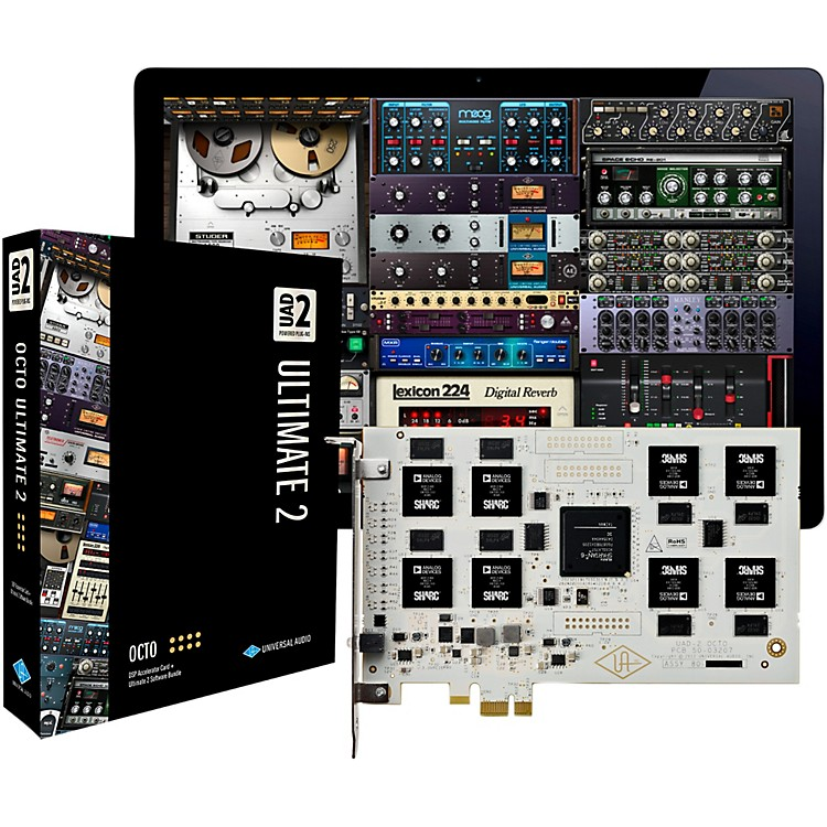 Universal Audio UAD-2 OCTO Ultimate 2 PCIe DSP Accelerator Package