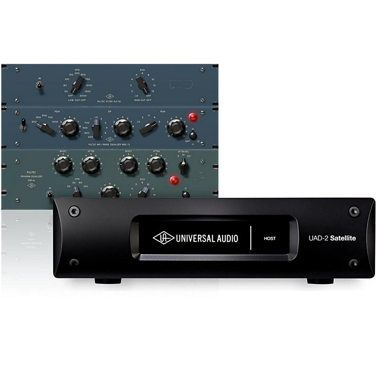 Universal Audio UAD-2 Satellite Thunderbolt - QUAD Custom