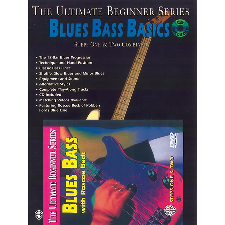 Alfred UBS Blues Bass Basics MegaPak (Book/DVD/CD)