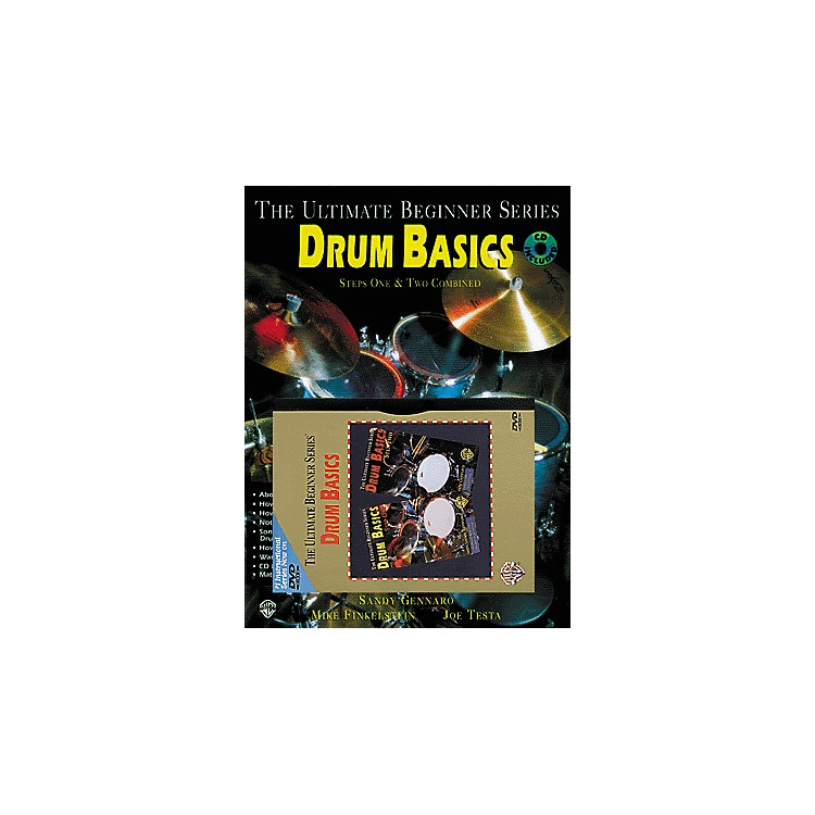 AlfredUBS Blues Drum Basics MegaPak (Book/DVD/CD)