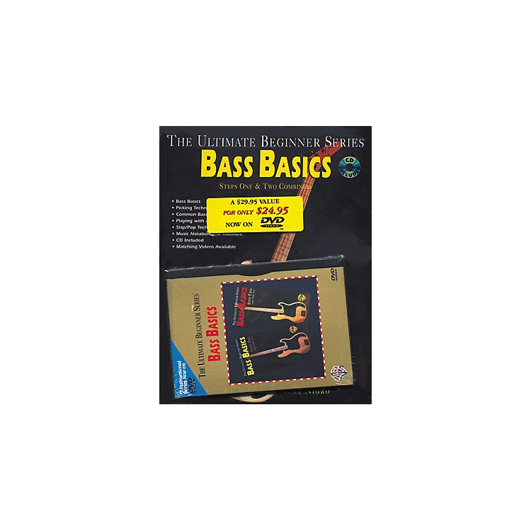 Alfred UBS Rock Bass Basics MegaPak (Book/DVD/CD)