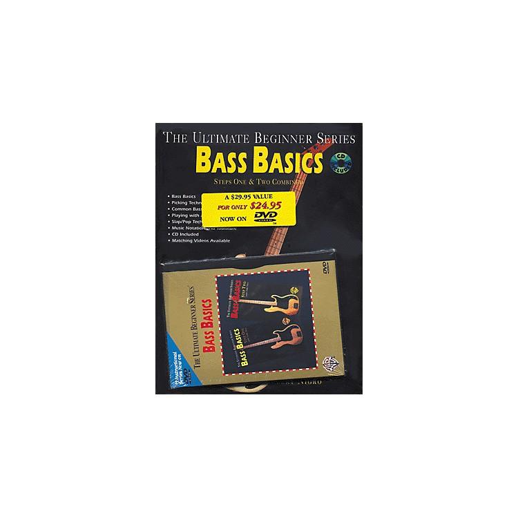 AlfredUBS Rock Bass Basics MegaPak (Book/DVD/CD)