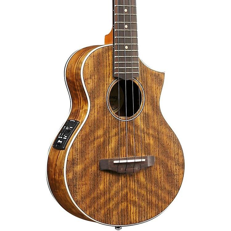 IbanezUEWT14E Exotic Wood Tenor Acoustic-Electric UkuleleNatural