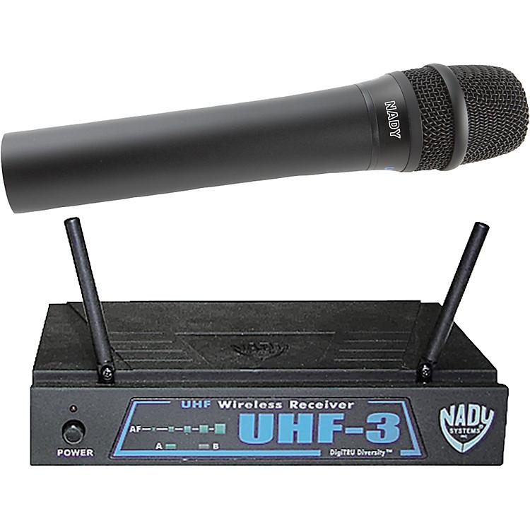 NadyUHF-3 Handheld Wireless SystemMU3/484.55