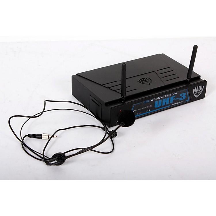 NadyUHF-3 Headset HM-3 Wireless SystemMU1/470.55888365826042