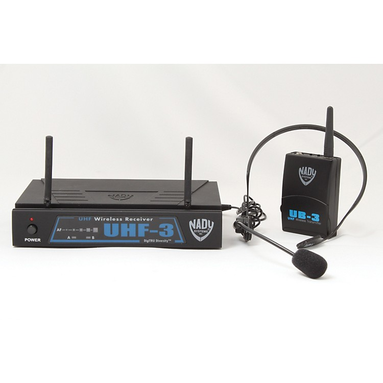 Nady UHF-3 Headset HM-3 Wireless System MU1/470.55