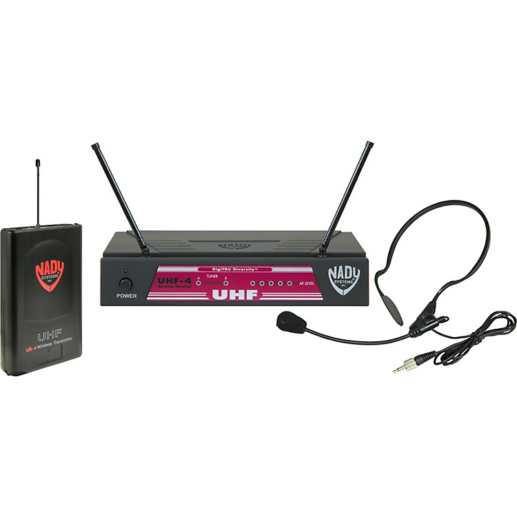 NadyUHF-4 LT/HM-3 (115) Headset Wireless SystemBand 15