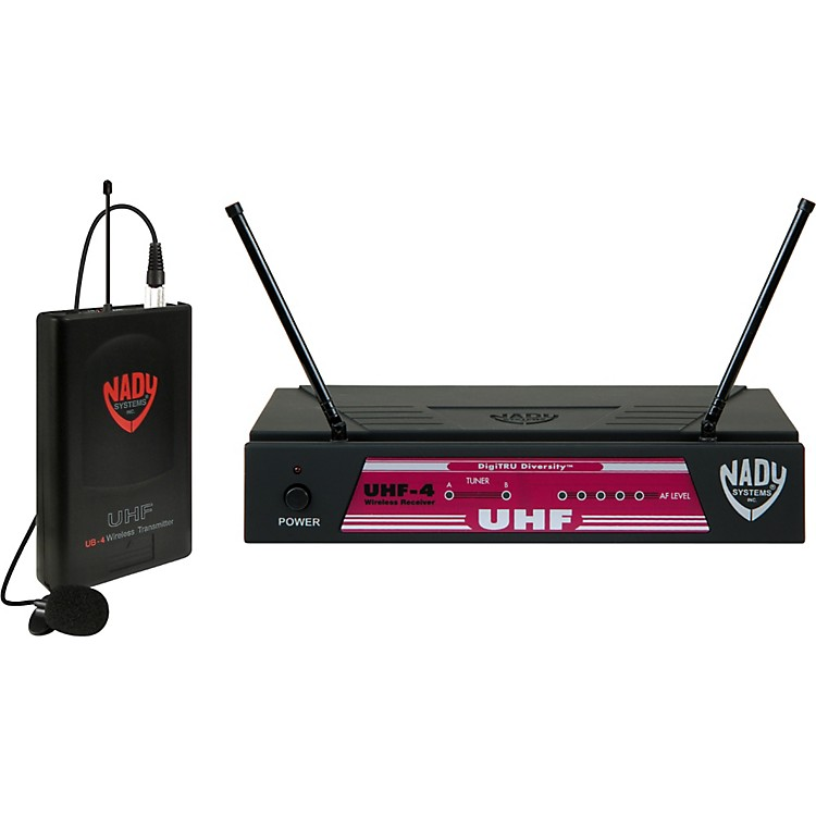 NadyUHF-4 Lavalier Wireless SystemBand 14